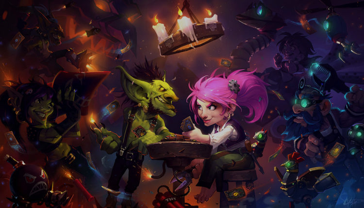 Hearthstone game of information