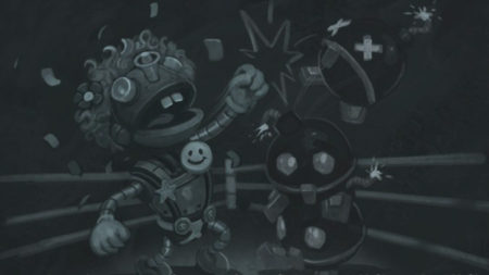 Boom Bot vs Annoy-O-Tron Tavern Brawl