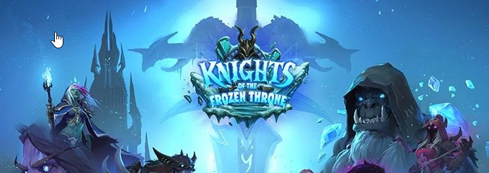 Knights of the Frozen Throne Hearthstone