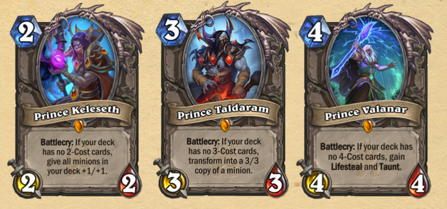 Knights of the Frozen Throne new cards